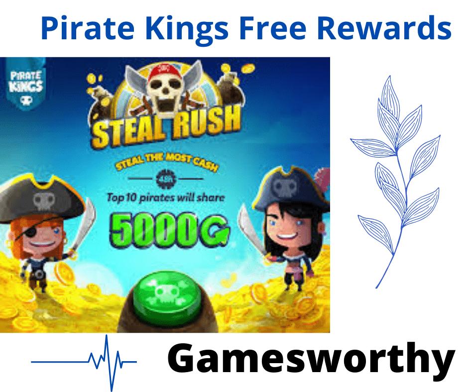 pirate king free rewards